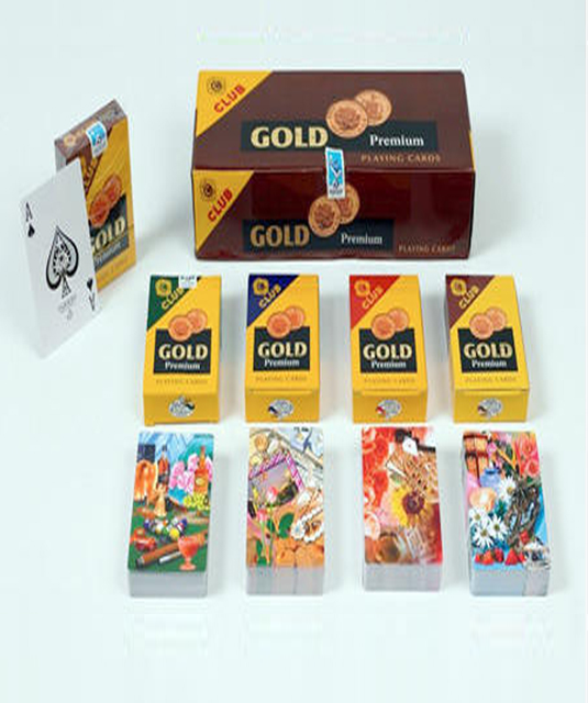 Gold Premium Marked Playing Cards